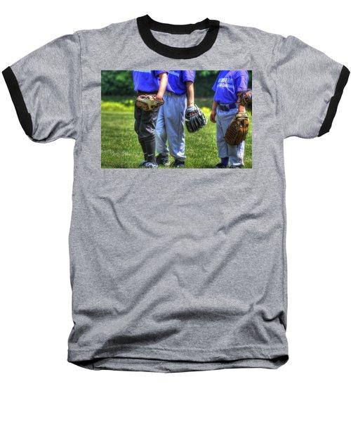 4 Gloves 1594 Baseball T-Shirt by Jerry Sodorff