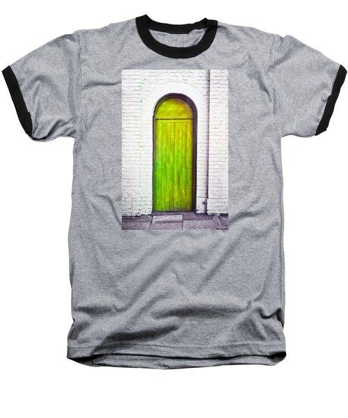 Green Door Baseball T-Shirt