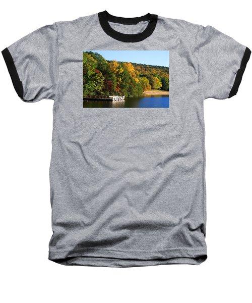 Hanging Rock Lake Baseball T-Shirt
