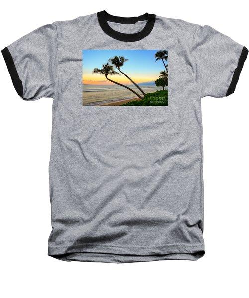 Island Sunrise Baseball T-Shirt