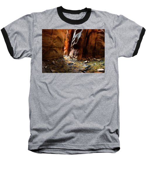 Kanarra Slot Canyon Baseball T-Shirt