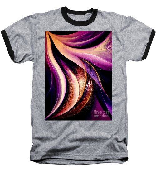 Light Dance Baseball T-Shirt
