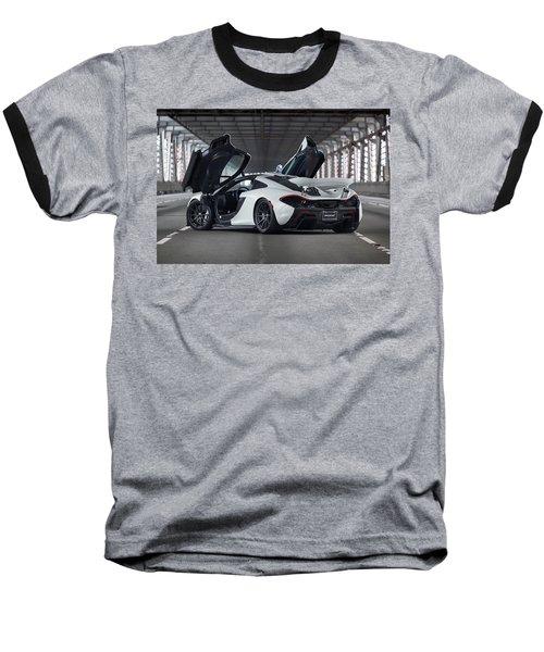 #mclaren #p1 #print Baseball T-Shirt