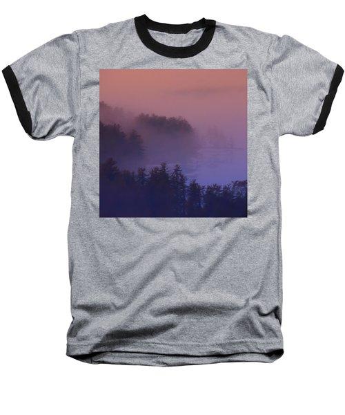 Melvin Bay Fog Baseball T-Shirt