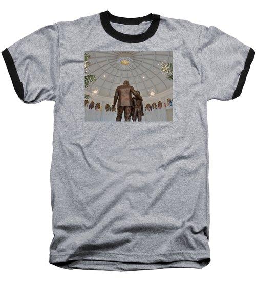 Milton Hershey And The Boy Baseball T-Shirt by Mark Dodd