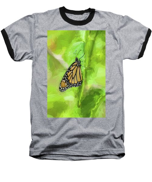 Monarch Butterflies Baseball T-Shirt