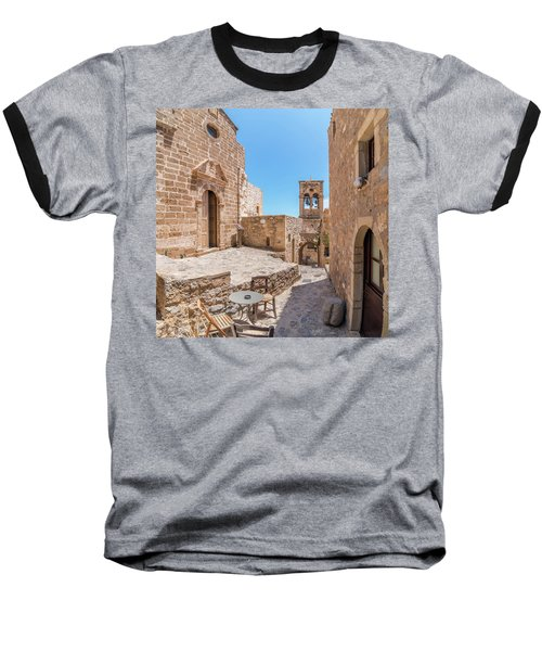 Monemvasia - Greece Baseball T-Shirt