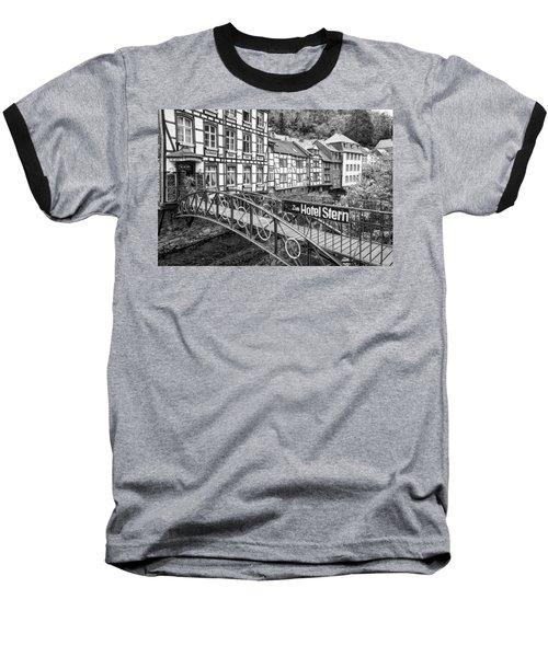 Monschau In Germany Baseball T-Shirt by Jeremy Lavender Photography