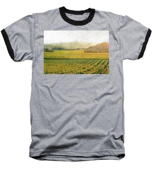 Napa Valley California In Autumn Baseball T-Shirt