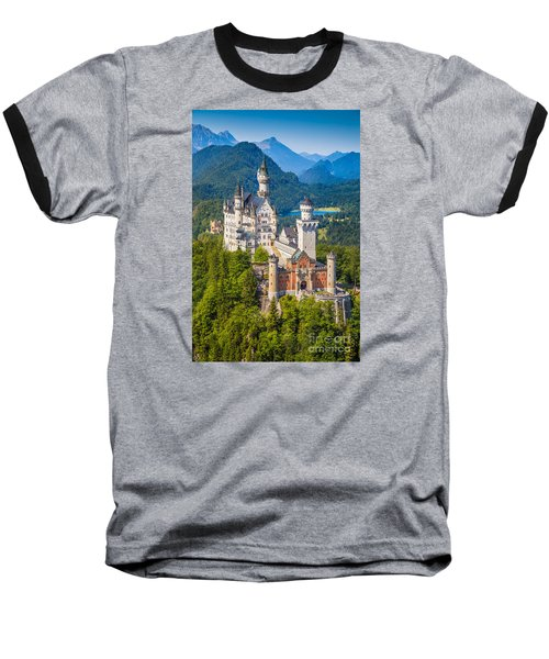 Neuschwanstein Fairytale Castle Baseball T-Shirt