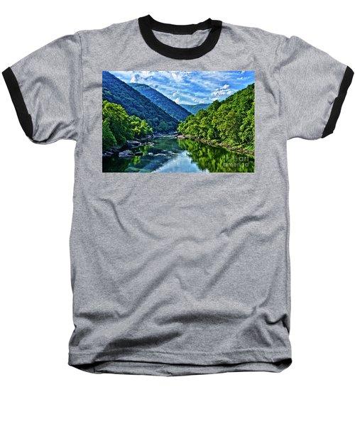 New River Gorge National River Baseball T-Shirt