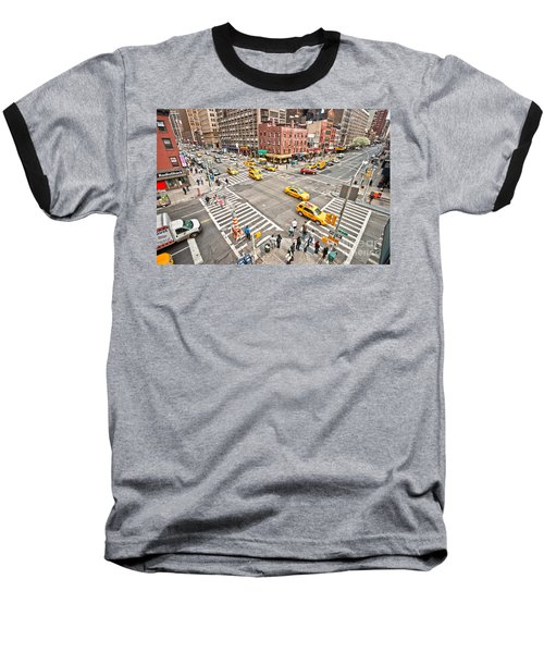 New York City Baseball T-Shirt by Luciano Mortula