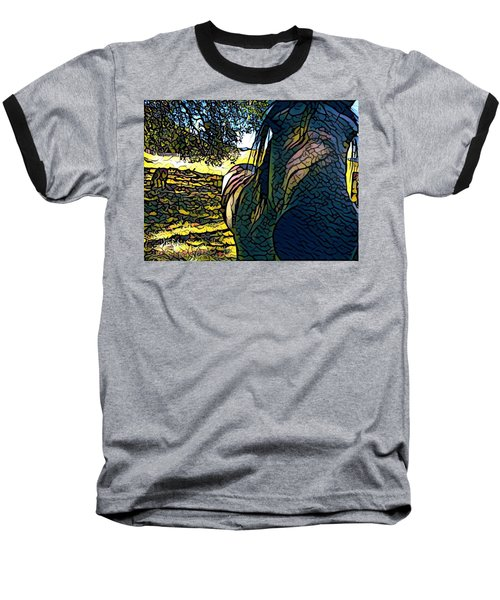 Nosey Belle Baseball T-Shirt