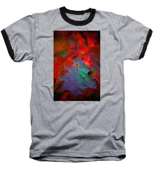 Oak Leaf Baseball T-Shirt by Andre Faubert