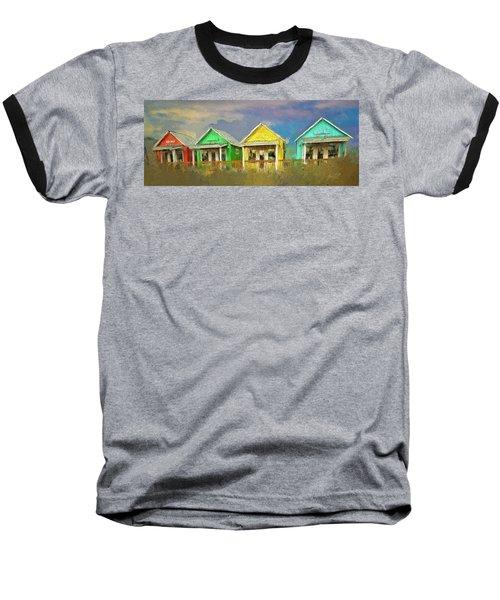 Baseball T-Shirt featuring the digital art 4 Of A Kind by Dale Stillman