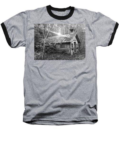 One Room School House Gnawbone Indiana Baseball T-Shirt by Scott D Van Osdol