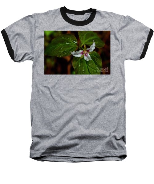 Baseball T-Shirt featuring the photograph Painted Trillium  by Thomas R Fletcher