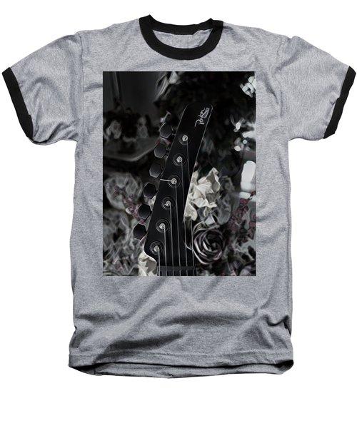 Parker Fly Guitar Headstock Baseball T-Shirt