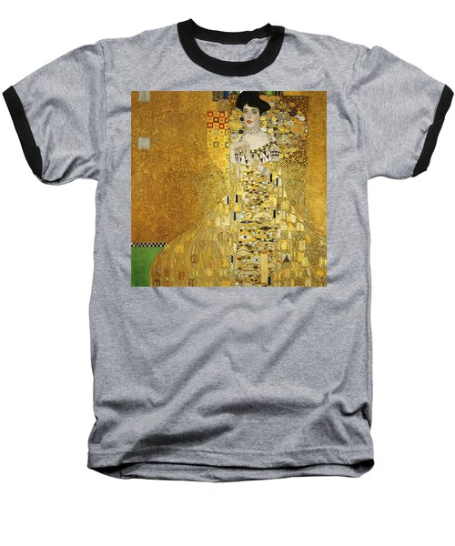 Portrait Of Adele Bloch-bauer I Baseball T-Shirt by Gustav Klimt