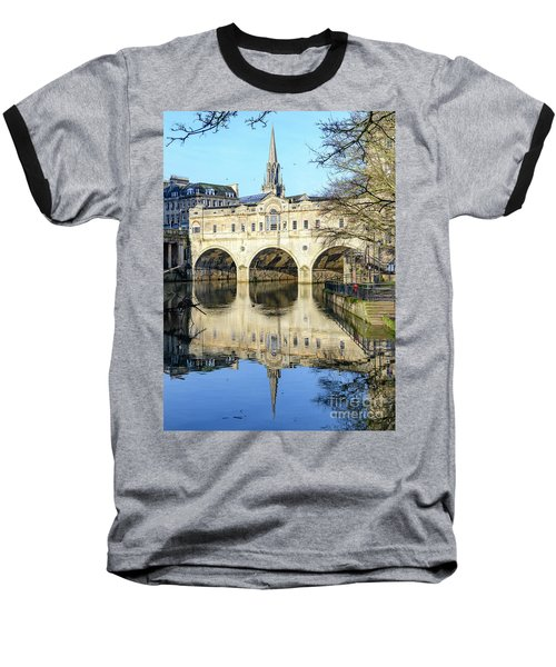 Pulteney Bridge, Bath Baseball T-Shirt