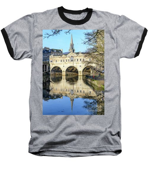 Pulteney Bridge, Bath Baseball T-Shirt