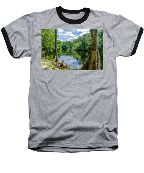 Baseball T-Shirt featuring the photograph Reflections by Louis Ferreira