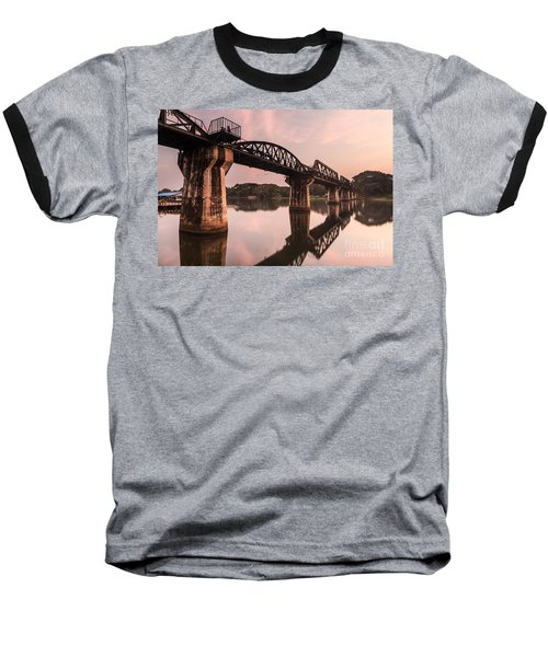 River Kwai Bridge Baseball T-Shirt