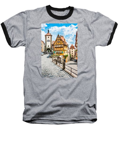 Rothenburg Ob Der Tauber Baseball T-Shirt