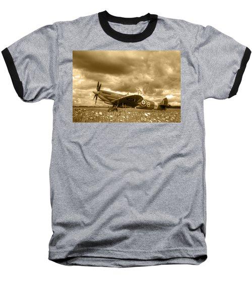 Spitfire Mk Ixb Baseball T-Shirt