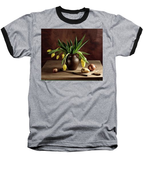 Still Life With Tulips Baseball T-Shirt