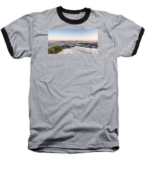 Sunset Over Seoul Baseball T-Shirt