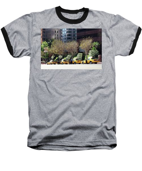 4 Taxis In The City Baseball T-Shirt