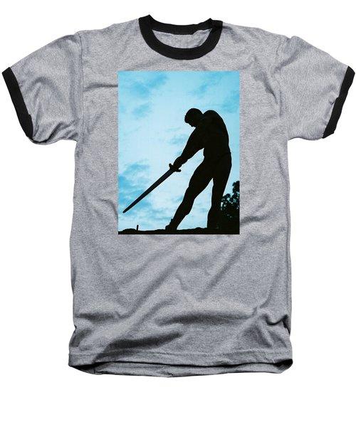 The Gladiator Baseball T-Shirt by Jake Hartz