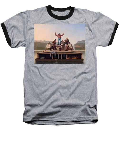 The Jolly Flatboatmen Baseball T-Shirt