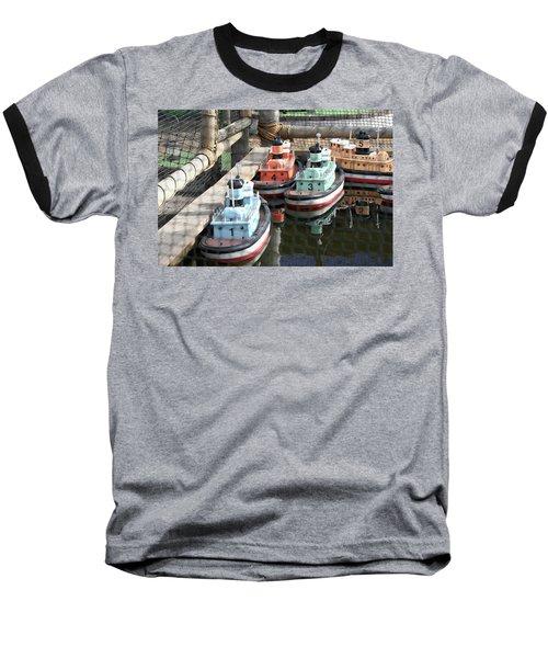 4 Toy Boats Baseball T-Shirt