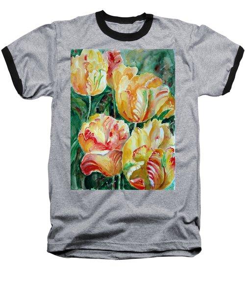 Tulips Baseball T-Shirt