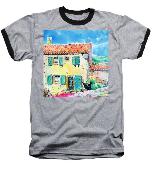View Of Luberon Baseball T-Shirt