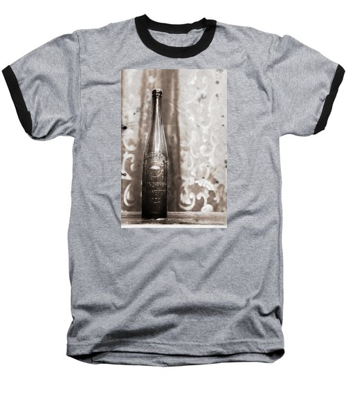 Baseball T-Shirt featuring the photograph Vintage Beer Bottle by Andrey  Godyaykin
