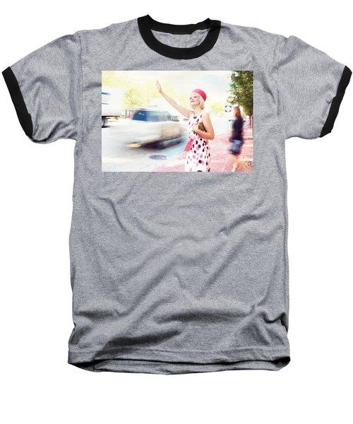 Vintage Val The Coral Hat Baseball T-Shirt