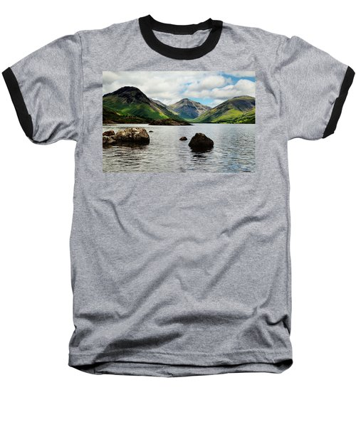 Wastwater Lake District Baseball T-Shirt