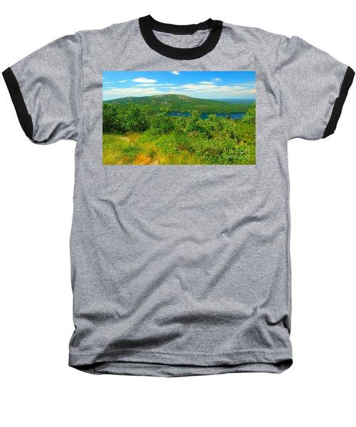 White Mountain's  Baseball T-Shirt by Raymond Earley