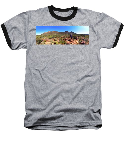 Wilpena Pound Baseball T-Shirt