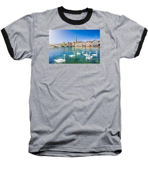 Zurich Baseball T-Shirt by JR Photography