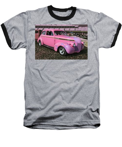 Baseball T-Shirt featuring the photograph '40 Chevy by Victor Montgomery