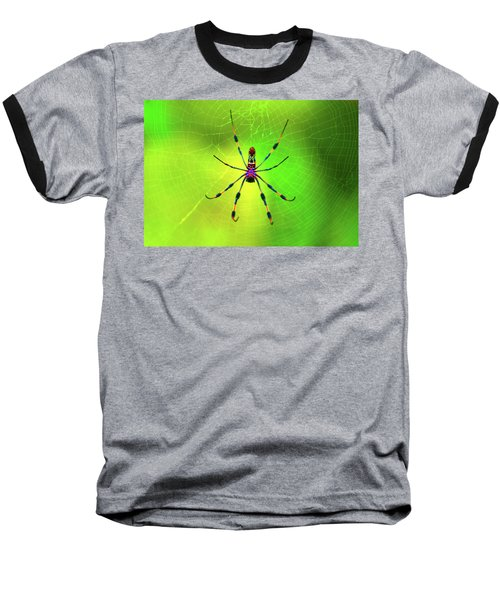 42- Come Closer Baseball T-Shirt by Joseph Keane