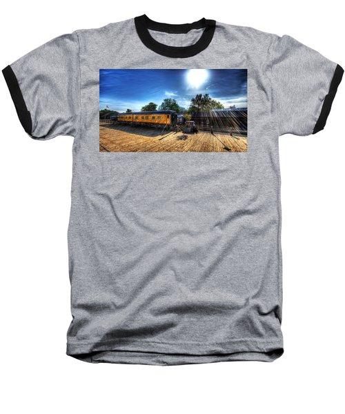 Train Baseball T-Shirt