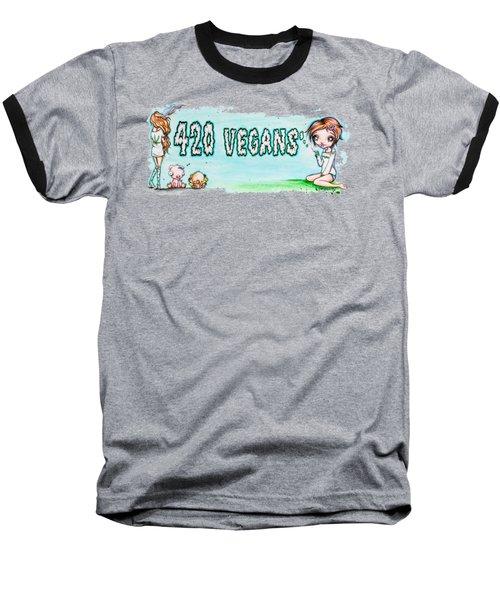 420 Vegans Baseball T-Shirt