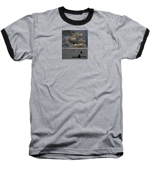 Baseball T-Shirt featuring the photograph 4367 by Peter Holme III