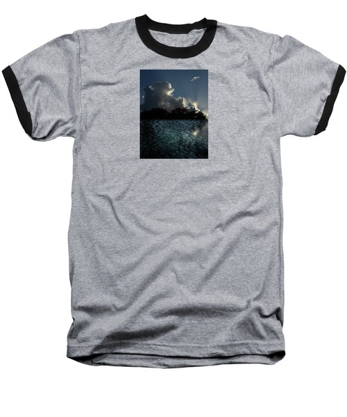 Baseball T-Shirt featuring the photograph 4377 by Peter Holme III