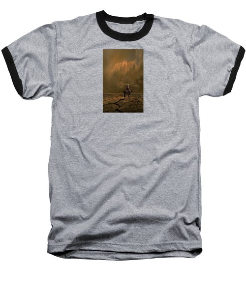 Baseball T-Shirt featuring the photograph 4378 by Peter Holme III